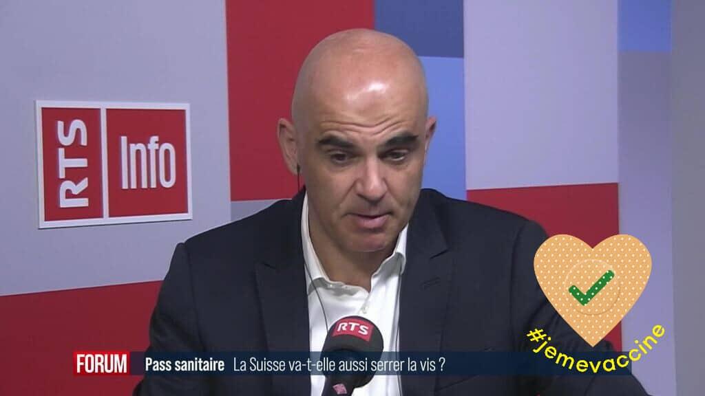 Alain Berset n'exclut pas de faire payer les tests à ceux qui refusent la vaccination