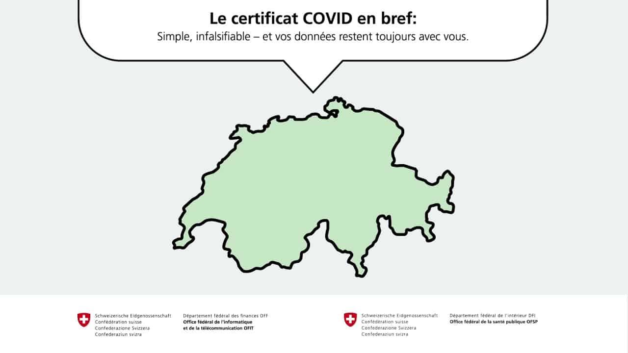 Coronavirus : certificat COVID
