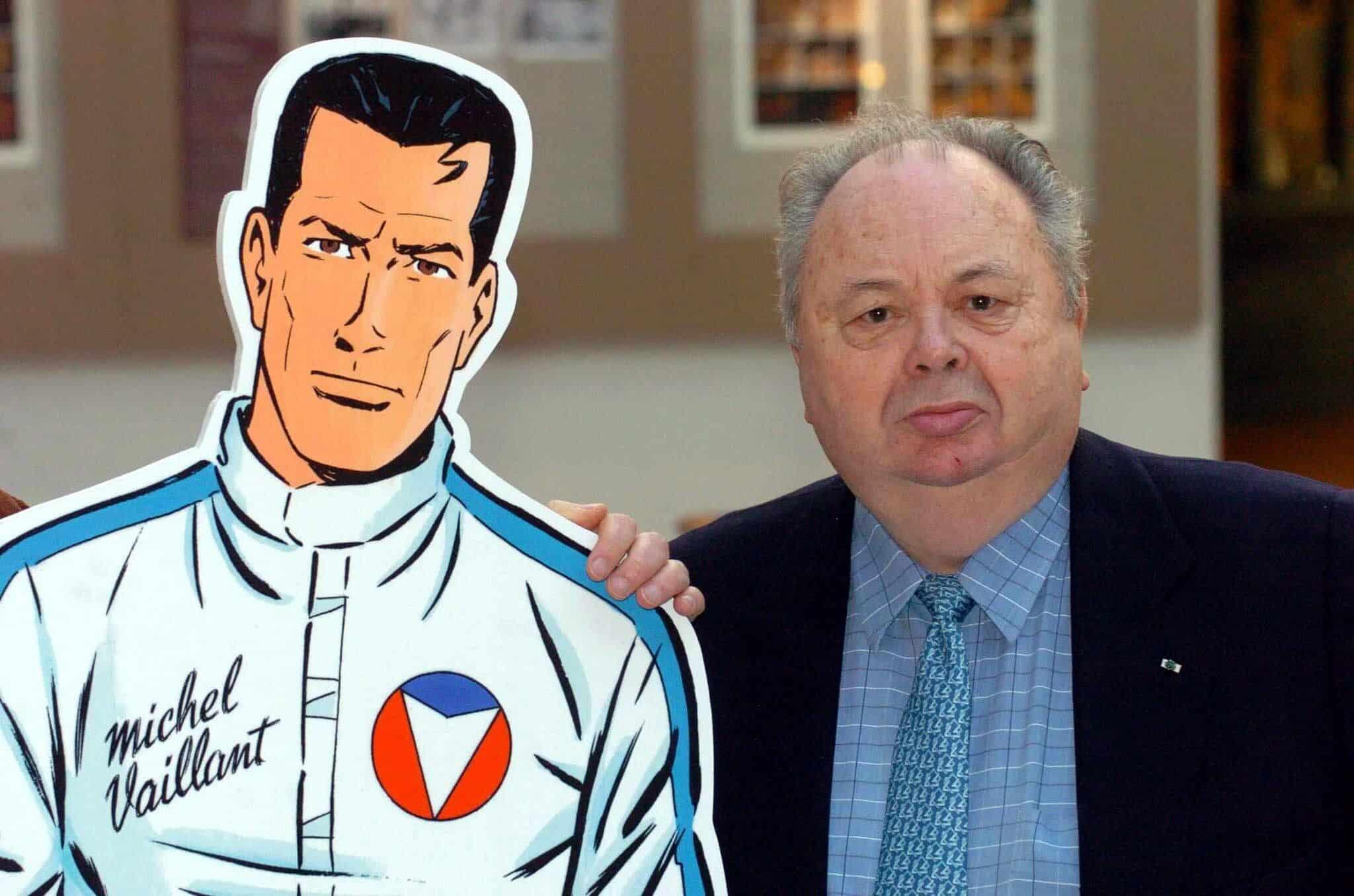 """Décès de Jean Graton, créateur de la bande dessinée """"Michel Vaillant"""""""