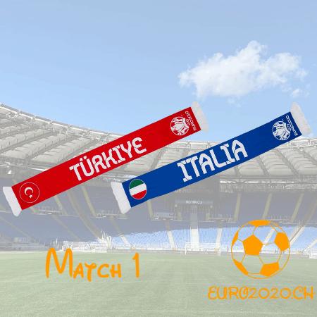 Match 1 – Turquie – Italie (0-3)