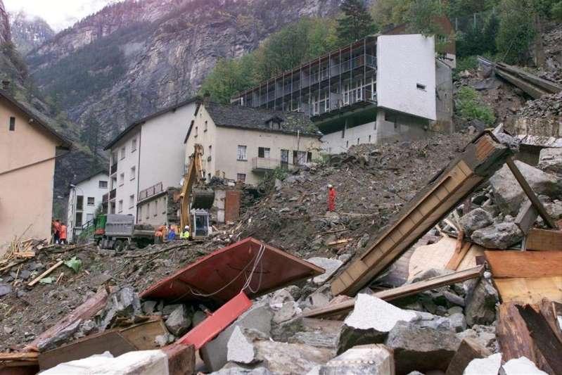 Il y a 20 ans, la boue emportait les maisons de Gondo en Valais