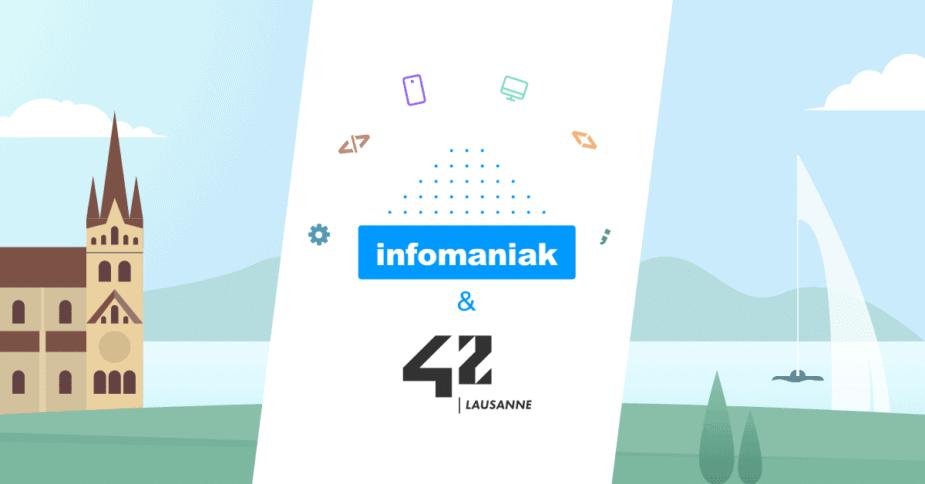 Infomaniak × École 42 Lausanne : une formation de développeur gratuite et locale pour des compétences de classe mondiale