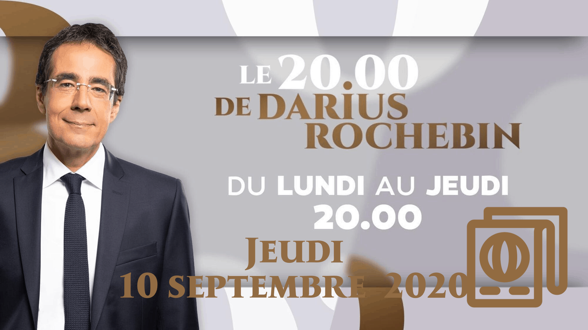 20h DARIUS ROCHEBIN jeudi 10 septembre 2020