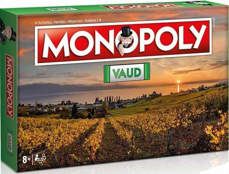 Le Canton de Vaud a son Monopoly