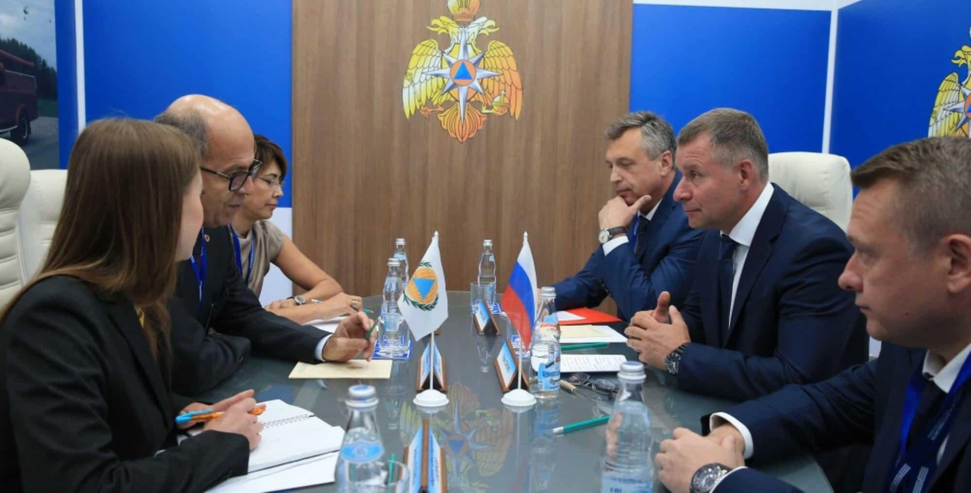 Fraîchement élu, Belkacem Elketroussi a été appelé à Moscou et a rencontré le ministre Zinichev, mais aussi des responsables de la sécurité et des relations internationales d'EMERCOM. Deux hommes que la presse russe identifie aussi comme des transfuges du FSB