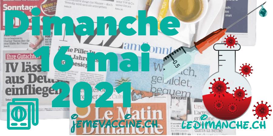 Revue de presse : vaccination des ados, effets secondaires graves, Credit Suisse…